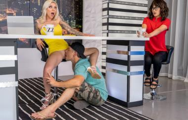 Karma Rx, Mick Blue – Ratings Up The Ass! (Brazzer)